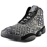 Jordan Nike Men's Horizon Premium Black/Purple Steel/Lght CHRCL Basketball Shoe 14 Men US