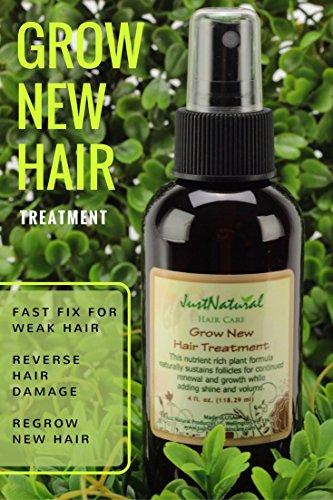 Just Natural New Hair Treatment Reviews