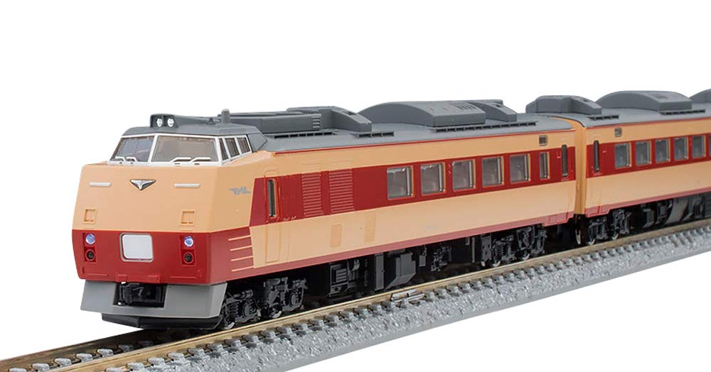 TOMIX Nゲージ 限定 キハ183 0系 復活国鉄色 セット 4両 97906 鉄道模型 ディーゼルカー   B07MNW64TZ