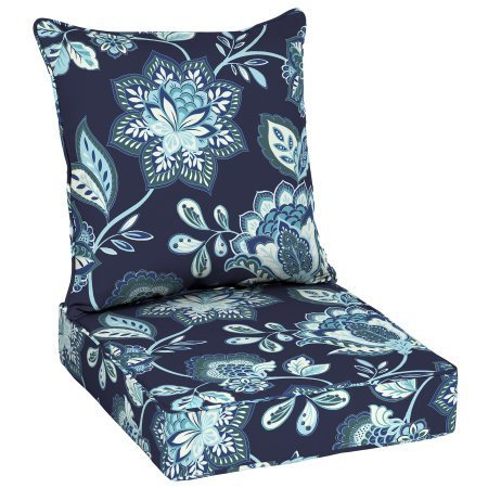 Better Homes and Garden Jacobean Floral Outdoor Deep Seating Cushion -