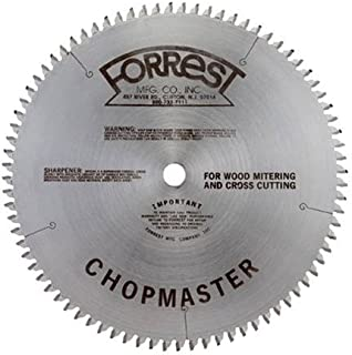 product image for Forrest CM06H406100 Chopmaster 6 1/2-Inch 40 Tooth 4 PTS + 1 Flat 3/32-Inch Kerf Saw Blade with 5/8-Inch Arbor