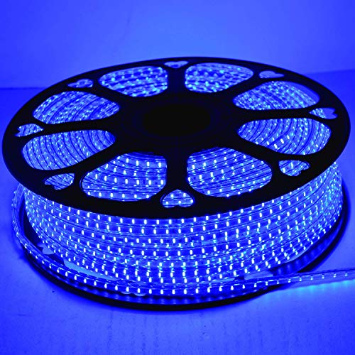 XYZ LED Rope Strip Rice Light with Adapter, Waterproof (Diwali Home Decoration, Festival Lights) Blue Meter