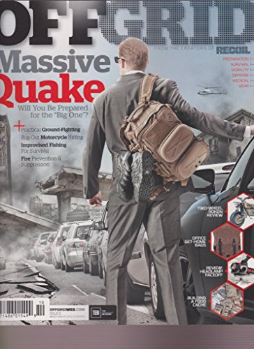 OFFGRID MAGAZINE #9 2015, MASSIVE QUAKE.