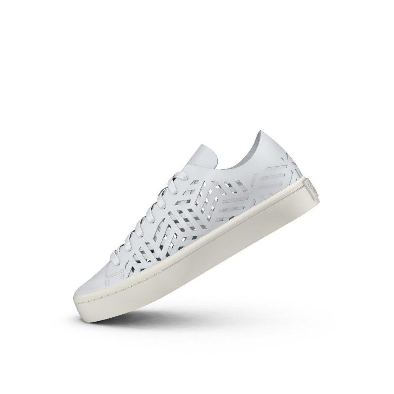 Adidas Women's Courtvantage W Leather Sneakers