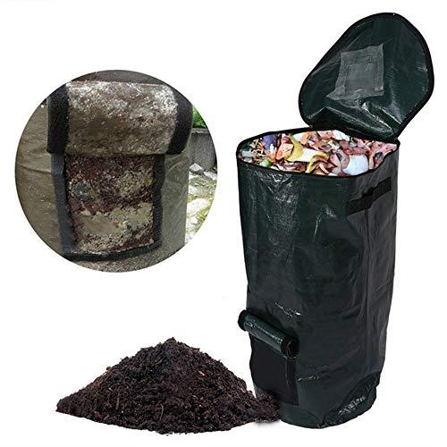 1 bolsa de abono para fermentación de residuos de cocina, eliminación de residuos caseros, bolso de composta orgánico,...