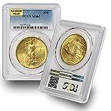 1907-1933 (Random Year) Gold Saint Gaudens Coin $20