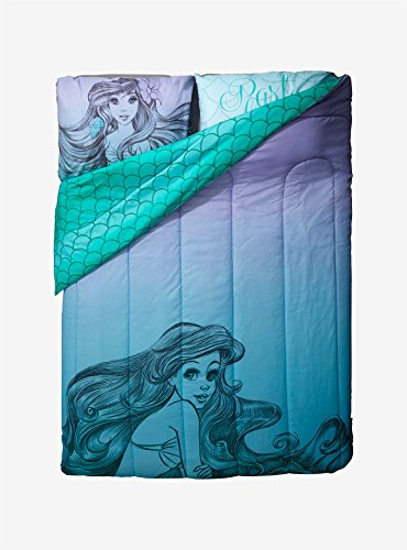 Fashion-The-Little-Mermaid-Ariel-Sketch-FullQueen-Disney-Comforter-Little-Mermaid-Free-Item