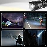 CVLIFE Ultra Bright LED Tactical Flashlight 5 Light