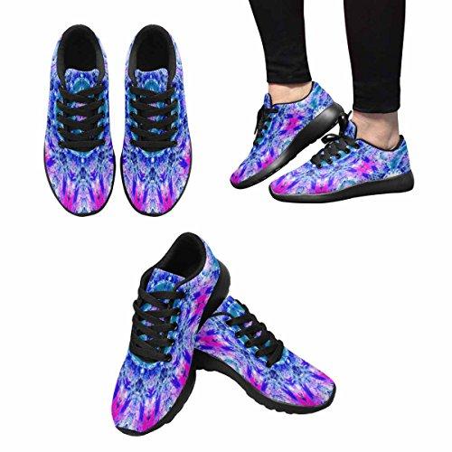 Scarpa Da Jogging Leggera Da Donna Running Running Leggera Easy Go Walking Comfort Sport Scarpe Da Corsa Astratte Round Design Multi 1