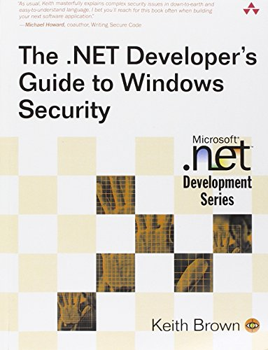 The .NET Developer's Guide to Windows Security by Addison-Wesley Professional