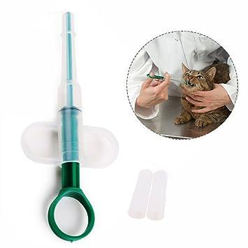 Gearmax Perro gato,durable inyector jeringuillas mascotas safe feeder,cápsula píldora agua tablette: Amazon.es: Electrónica