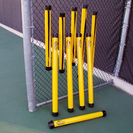 Oncourt Offcourt Tennis Masterpro Ball Tube – Easiest Way to Pick Up Tennis Balls/Holds Up To 21 Balls/Shoulder Strap Included -