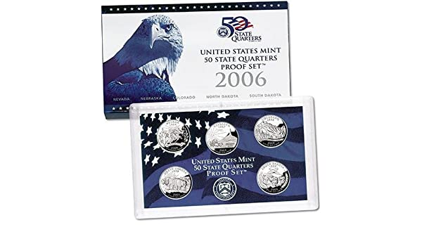 2006 United States Mint Proof Set in Original Mint Packaging and COA