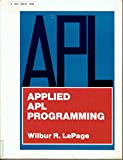 img - for Applied A.P.L. Programming book / textbook / text book
