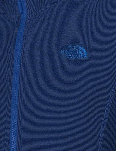 Chaqueta THE W Zip 100 FACE Full Glacier Mujer Azul NORTH 0xqF0wAr