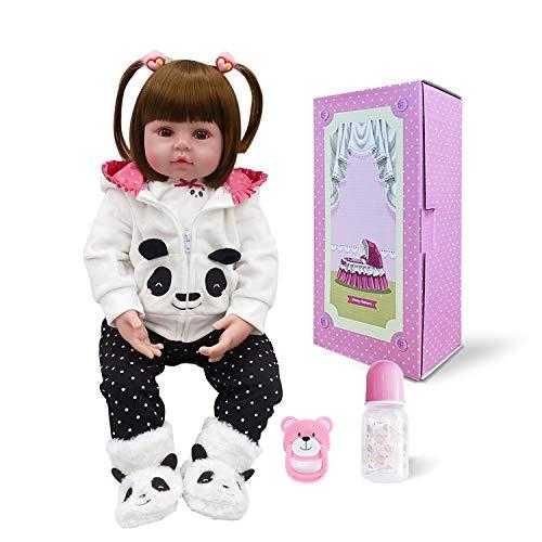 2019公式店舗 Pinky 18インチ 45cm 可愛い Pinky リボーン 18インチ 赤ちゃん 45cm 女の子 人形 幼児 リアルな見た目 生きているような赤ちゃん人形 ビニール シリコーン 赤ちゃん クリスマスギフト B07GLBRW2M, 2019年激安:a2bb2acb --- pmod.ru
