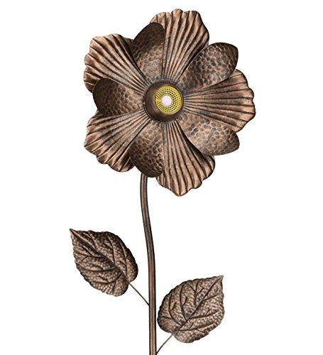 2 Inch X 12 Inch Speaker - Regal Art & Gift Wireless Speaker 12 Inches x 2 Inches x 52 Inches Metal/Wireless Flower Stake - Antique Bronze