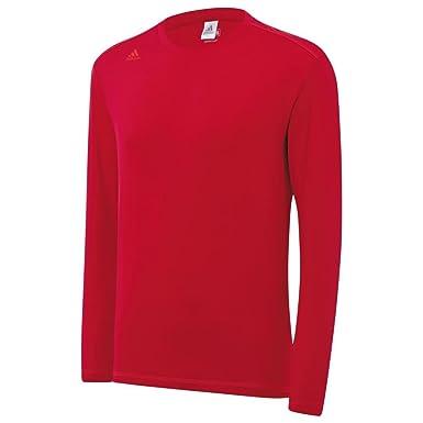 Camiseta térmica de Adidas, con tecnología Climawarm, de manga larga y cuello redondo, para hombre, para jugar al golf, 2015: Amazon.es: Deportes y aire ...