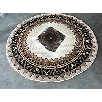 Amazon Com South West Native American Round Area Rug