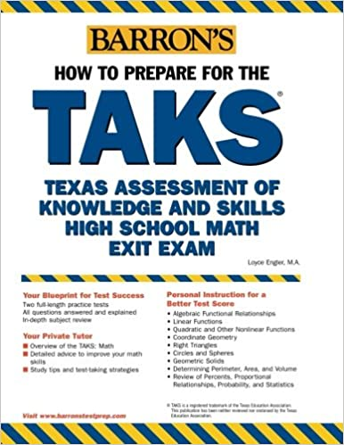 How to Prepare for the TAKS: Math Exit Exam: Texas Assessment of ...