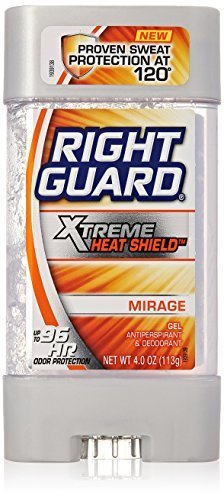 Right Guard Antiperspirant Deodorant - Xtreme Heat Shield - Gel - Mirage - Up To 96 Hour Odor Protection - Net Wt. 4 OZ (113 g) Each - Pack of - Shopping Empire 2 Mall