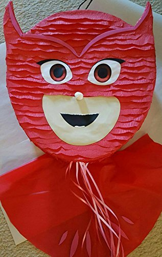 Owlette Face Pinata inspired by Pj Masks