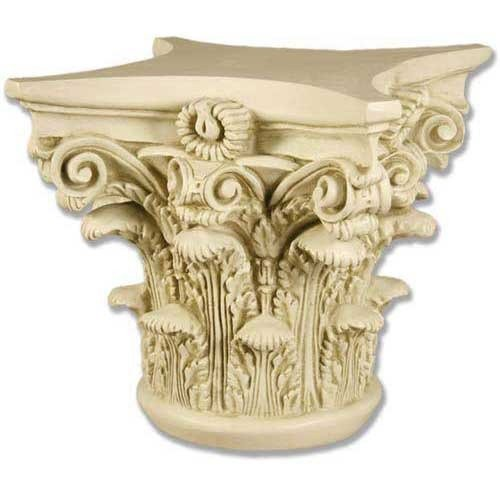 Corinthian Table Base - XoticBrands Corinthian Capital 14 (God) Architectural Table Bases