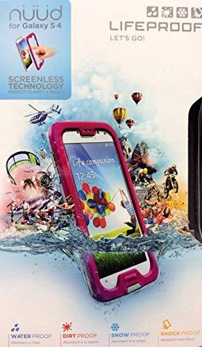 LifeProof Waterproof Protective Case for Samsung Galaxy S4 'NÜÜD Series' - Magenta (Pink)