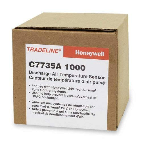 Honeywell C7735A1000/U Zone Max Sensor, 0 Degree - 200 Degree F Temperature Range, Gray