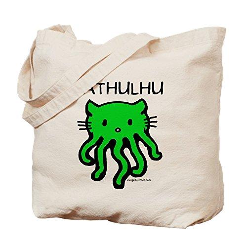 CafePress–Cathulhu–Gamuza de bolsa de lona bolsa, bolsa de la compra