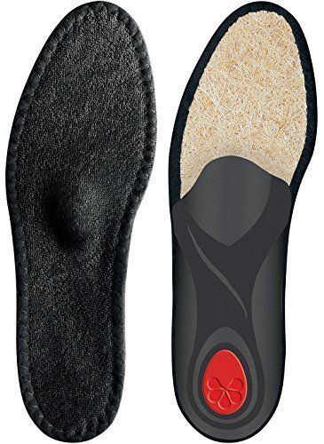 Pedag Viva Summer Black-Viva Sneaker Warm Weather Orthotic with Semi Rigid Arch, Met and Heel Pad, Black, W11/M8/EU41 by Pedag (Infant Heel Warmers)