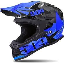 509 Altitude Snowmobiling Helmet - Matte Blue (LG) by 509