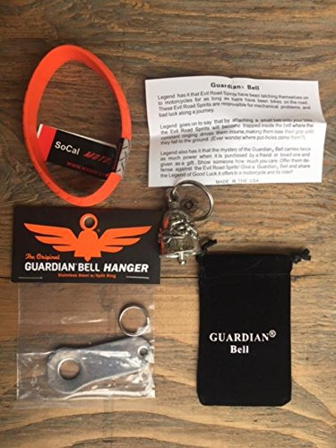 Guardian® Bell NEVER RIDE FASTER COMPLETE MOTORCYCLE KIT W/HANGER & WRISTBAND