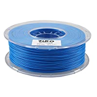 ZIRO 3D Printer Filament PLA 1.75 1KG(2.2lbs), Dimensional Accuracy +/- 0.05mm, Fluo blue from ZIRO