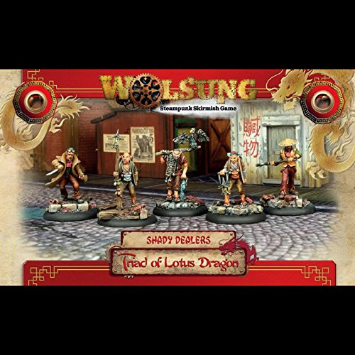 Triad of Lotus Dragon Henchmen Box #1 - Shady Dealers