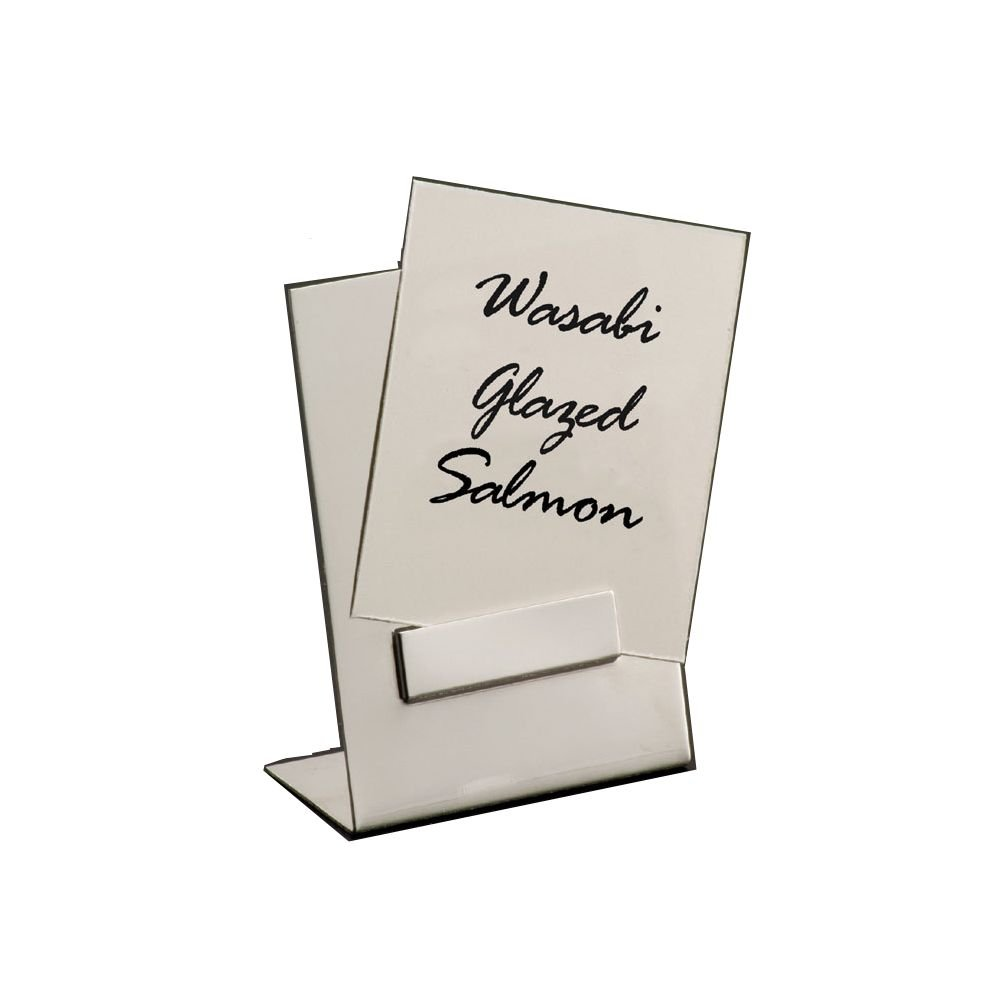 """American Metalcraft (DXP1) 2-1/2"""" Stainless Steel Card Holder"""