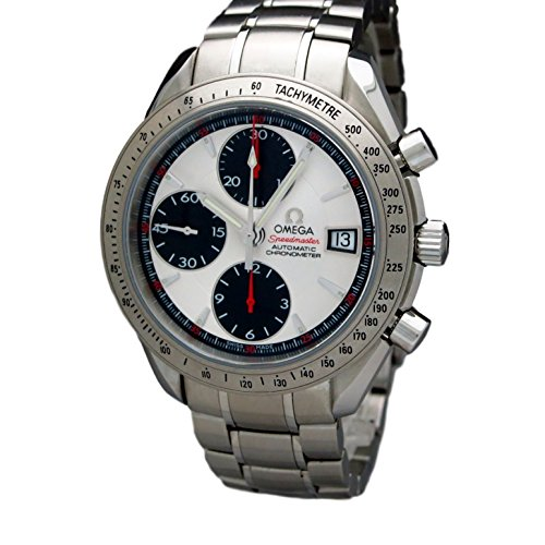 Omega Speedmaster Day Date (Omega Speedmaster Date automatic-self-wind mens Watch (Certified Pre-owned))