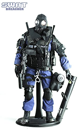 Military Figures Inch 12 (Highly Detail Special Forces Action Figure SWAT TEAM-BREACHER)