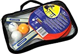 HUDORA 76249 - sport rackets (Table tennis, Black, Red, Wood, Wood) by Hudora