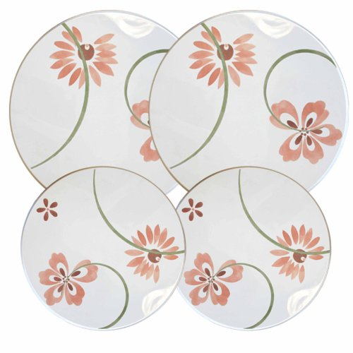 Corelle Coordinates Burner Cover Set of 4, Pretty (Corelle Burner Covers)