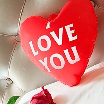 qtimber Corazón Hinchable I Love You Romantic Items ...