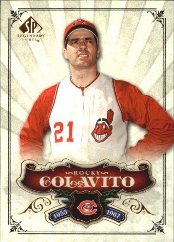 2006 SP Legendary Cuts Baseball Card #84 Rocky Colavito