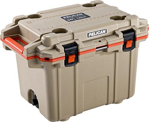 Pelican Elite 50 Quart Cooler (Tan/Orange) Only $231.88 **Today Only**