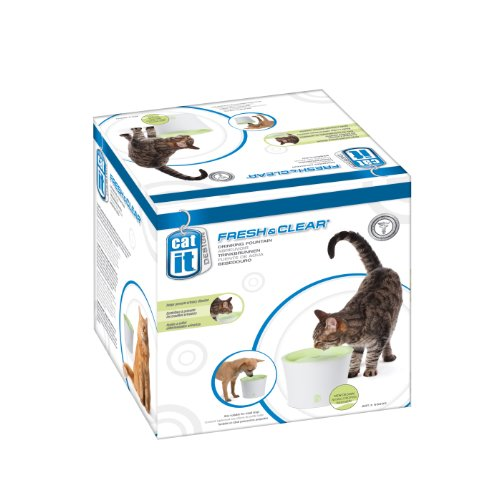 Catit Cat Drinking Fountain (Catit Design Fresh and Clear Cat Drinking Fountain, Original)
