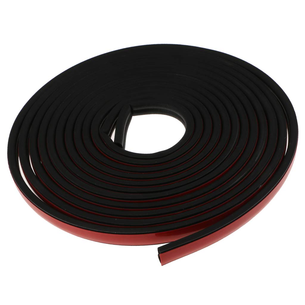 Baoblaze RV Boat Quality Weather Stripping Door Replacement Gasket Seal B-Type - 5 Meters