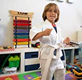 DIBSIES Personalization Station Personalized Karate Belt Display
