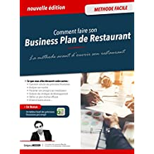 Business plan de restaurant: Méthode Facile (French Edition)