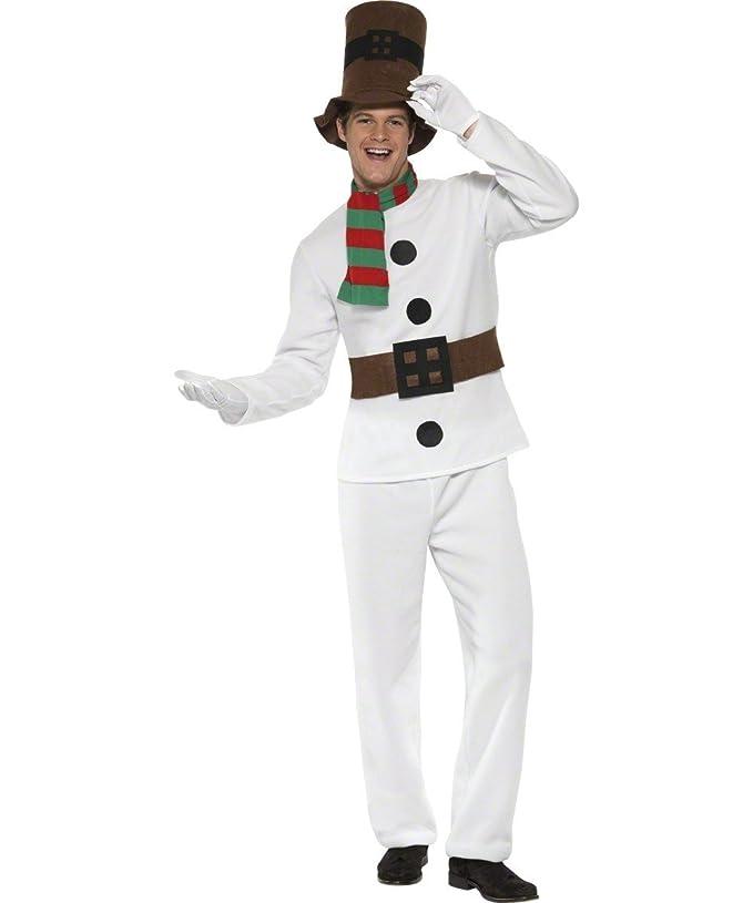Disfraz de Muñeco de Nieve elegante - M: Amazon.es: Juguetes y juegos