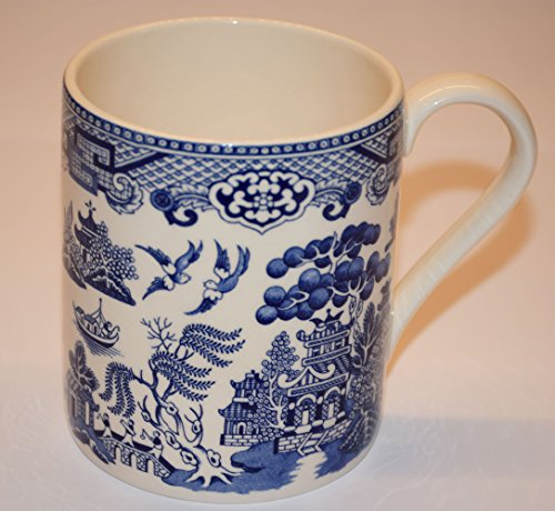 Cuthbertson Blue Willow - Cuthbertson Blue Willow Mug