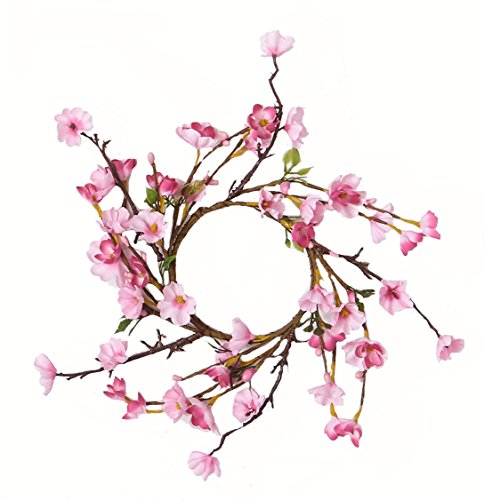 Worth Imports Cherry Blossom Candle Ring -